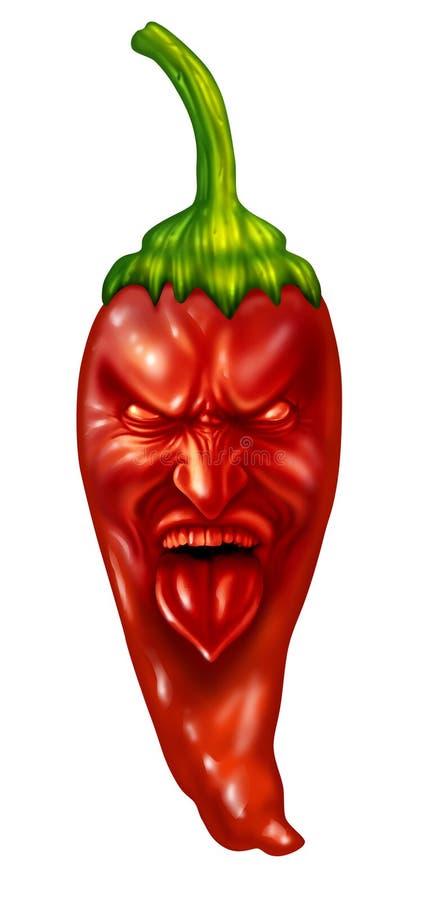 Download Hot Pepper stock illustration. Illustration of chili - 30456882
