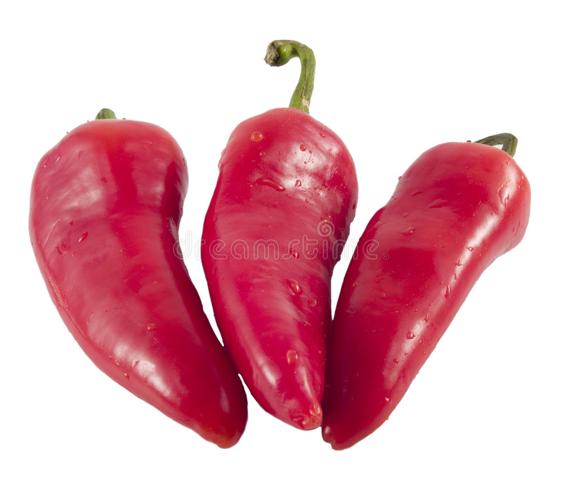 Hot Peppers6 stock image