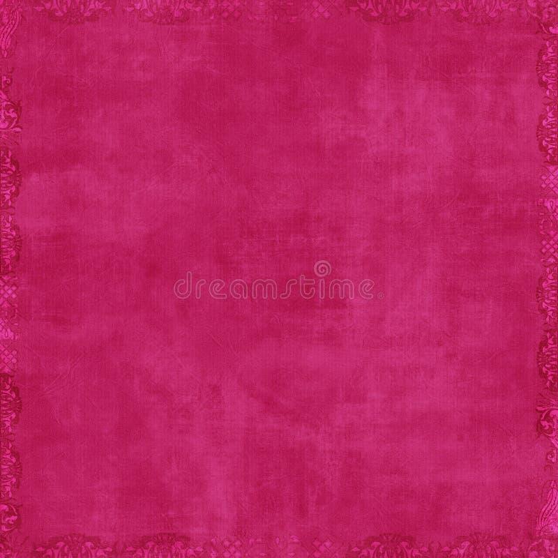 Hot Pink Scrapbook Background Stock Illustration Illustration Of