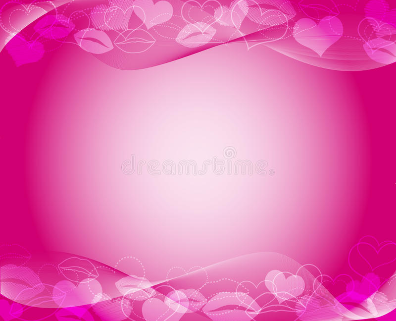 Hot Pink Template Royalty Free Stock Photo - Image: 37268125