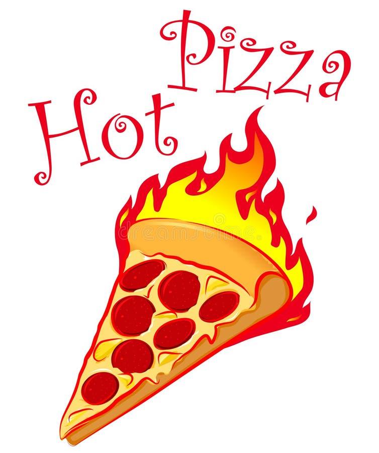 Download Hot Pizza Logo Design stock vector. Illustration of draw - 8032101