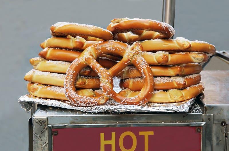 Download Hot Pretzels. stock image. Image of outdoor, salt, street - 16969699