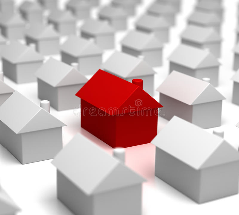 Download Hot Property Amongst Others Royalty Free Stock Photos - Image: 12900188
