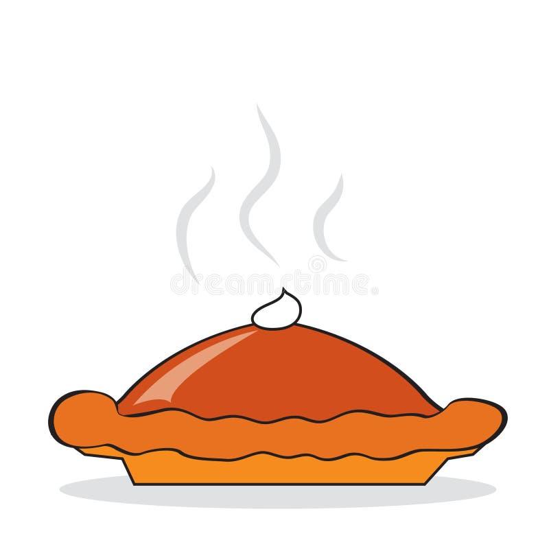 Hot pumpkin pie