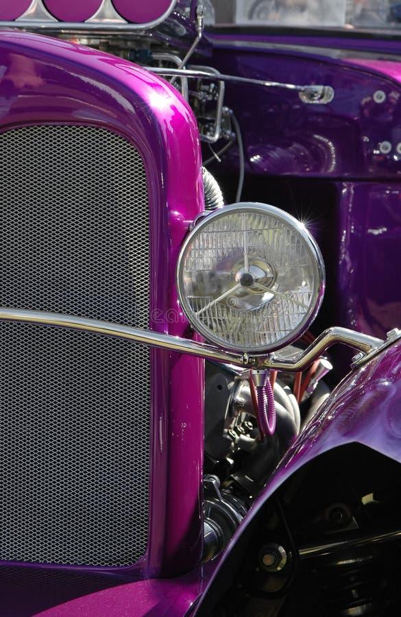 hot purple rod στοκ φωτογραφίες