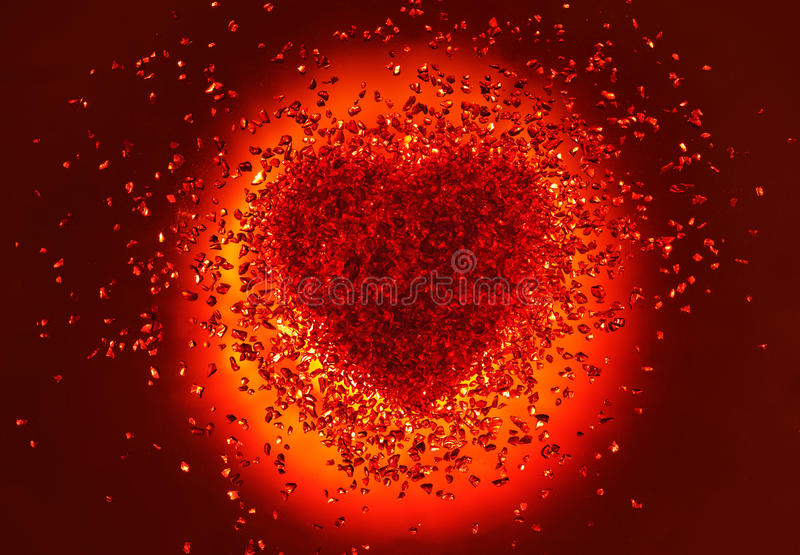 Hot Red Heart