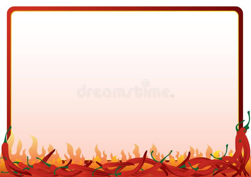 Hot Red Pepper Stock Images