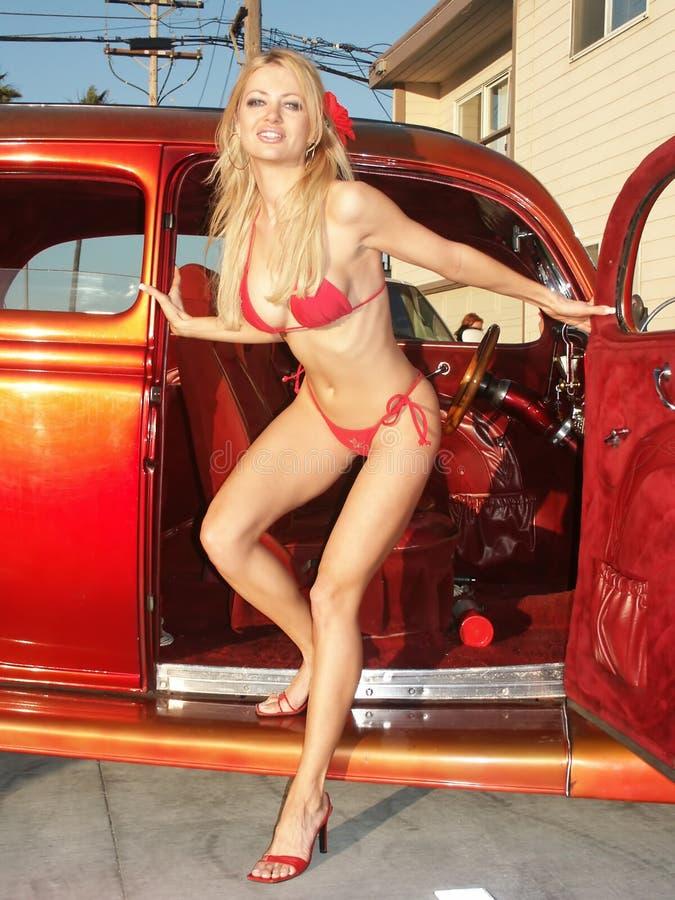 Hot Rod 3 Natalie Obrazy Stock