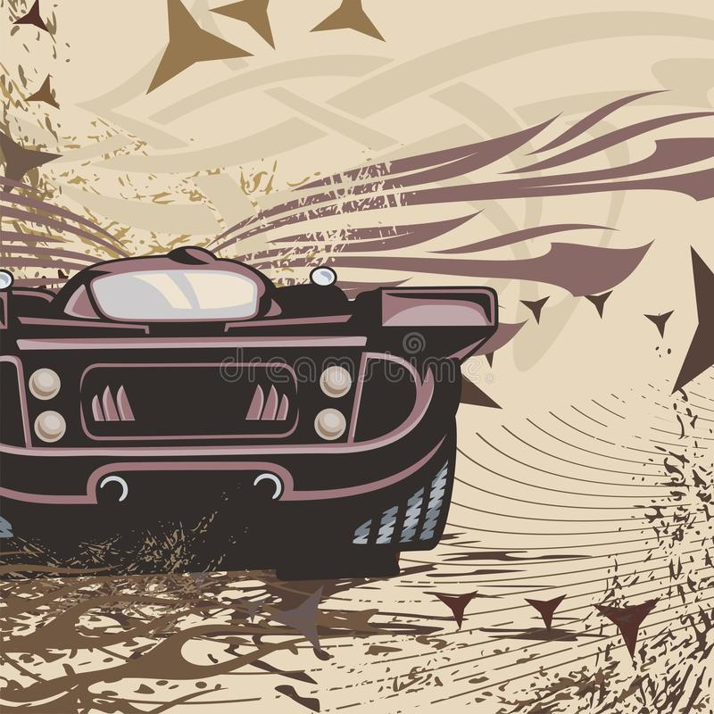 Download Hot Rod Car Background stock illustration. Image of automobile - 13265944