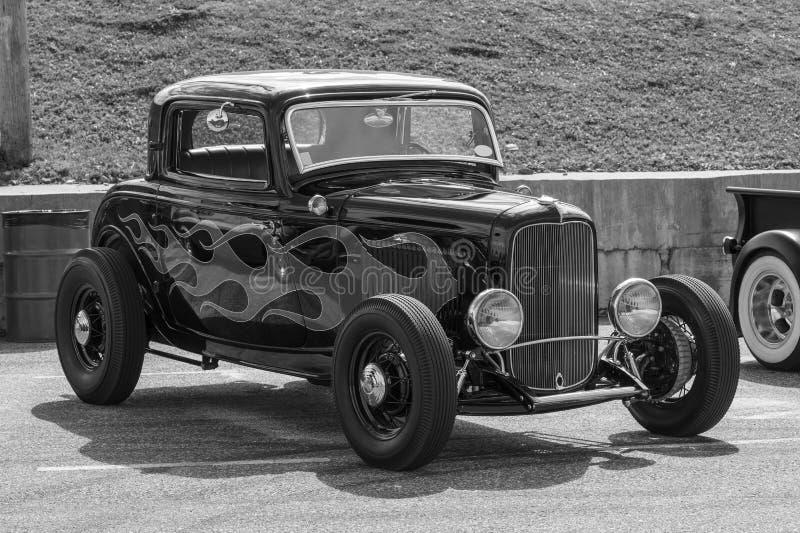 Hot rod car stock photos