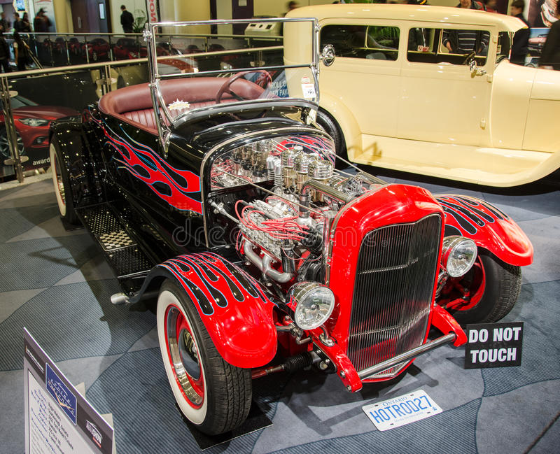Hot Rod Seen At CIAS 2014 Editorial Stock Image