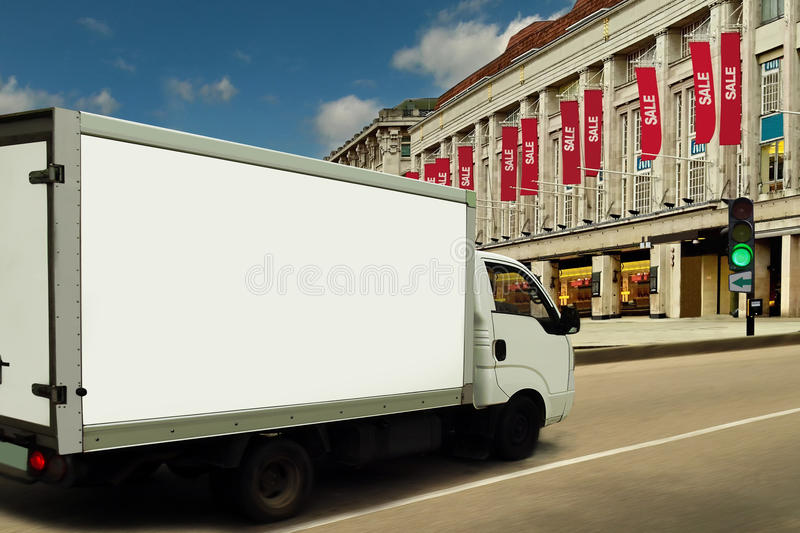 Download Hot Sales Season. Green Light For Fast Delivery. Royalty Free Stock Images - Image: 20302179