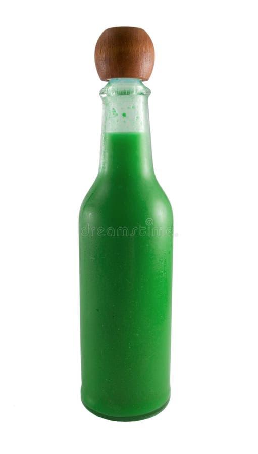 Hot Sauce Bottle stock photos