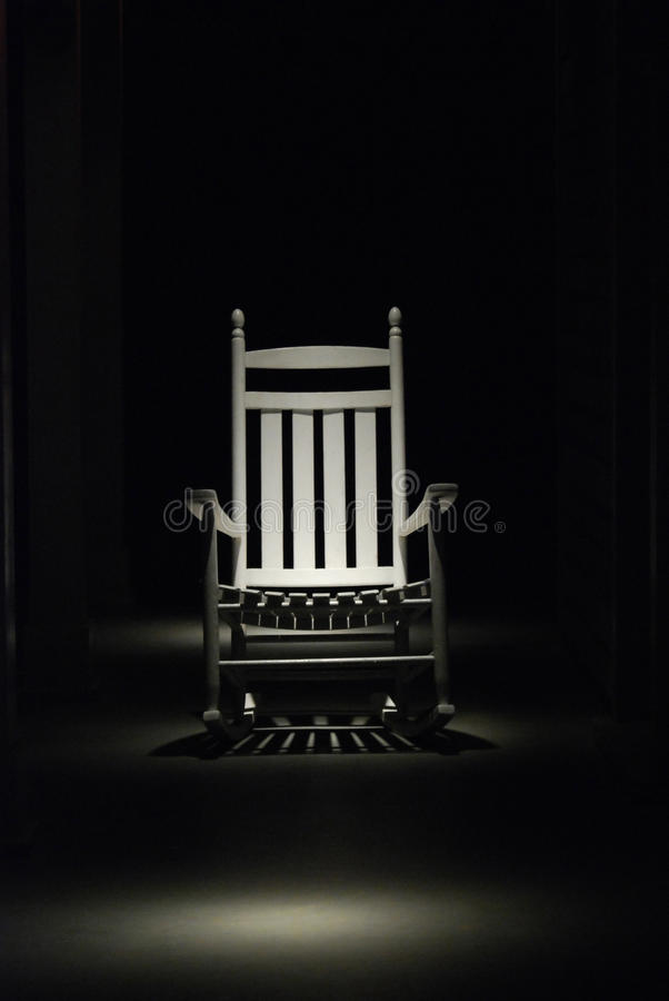 The Hot Seat Rocker stock image