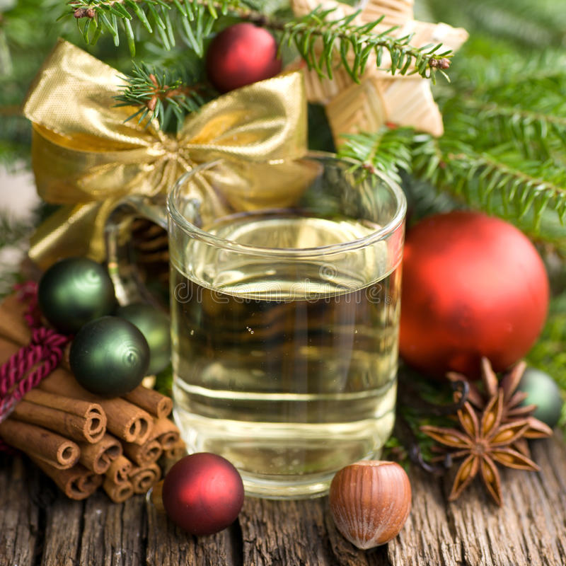 Hot spiced wine royalty free stock photography