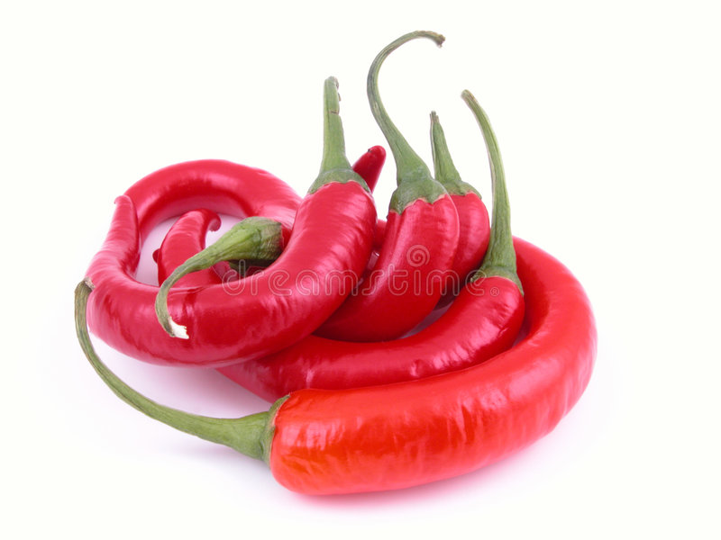 Hot and spicy royalty free stock photos