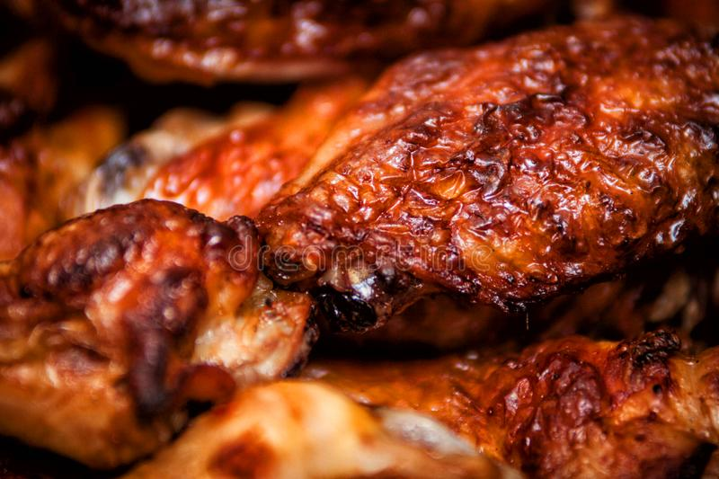 Hot and spicy buffalo style chicken wings. Hot buffalo style chicken wings food fried spicy bbq barbecue fresh appetizer meat roasted sauce cuisine delicious pub stock photo