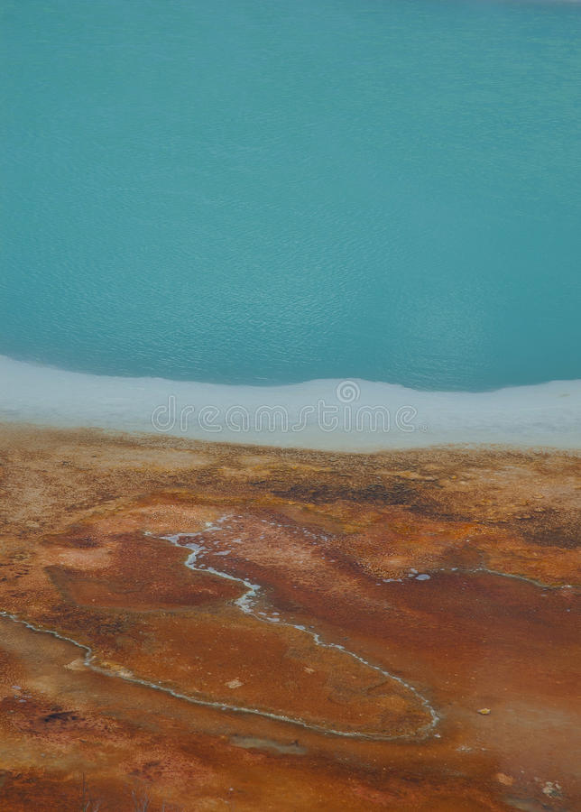 Hot Spring Abstract stock photography