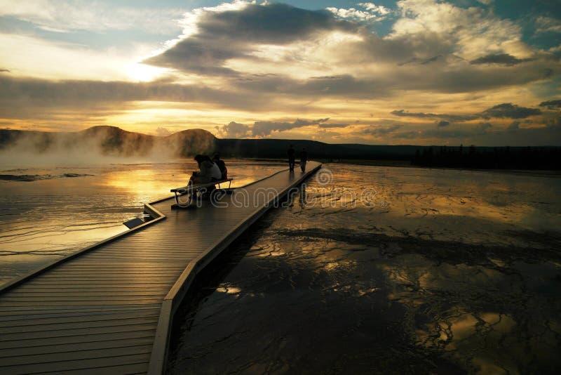 Hot Springs стоковые изображения rf