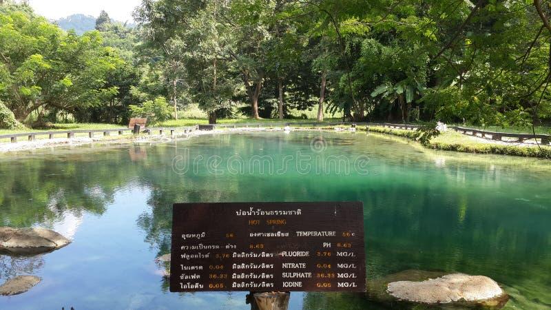 Hot Springs photos libres de droits