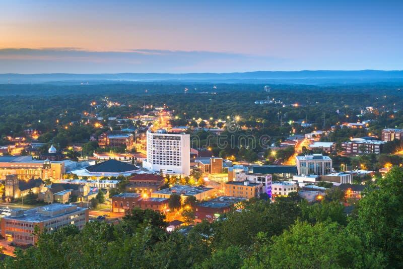 Hot Springs, Arkansas, ville des États-Unis photographie stock