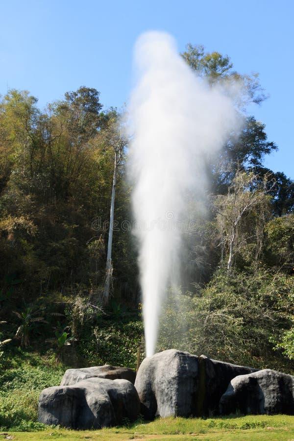 Hot Springs chez Fang National Park, Chiang Mai, Thaïlande image libre de droits