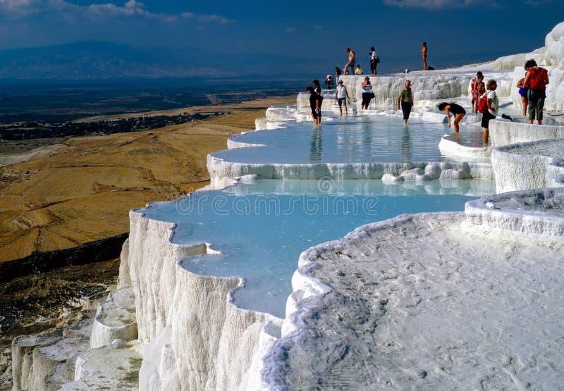 Hot Springs dans Pamukkale, Turquie photo libre de droits