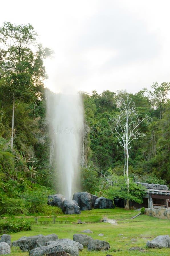 Hot Springs, Fang Thailand photo libre de droits