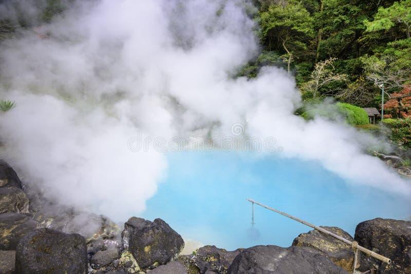 Hot Springs i Japan royaltyfri fotografi