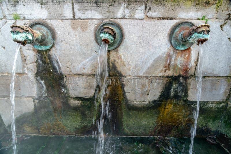 Hot Springs 'Néhe 'från Dax i sydväster Frankrike royaltyfria bilder