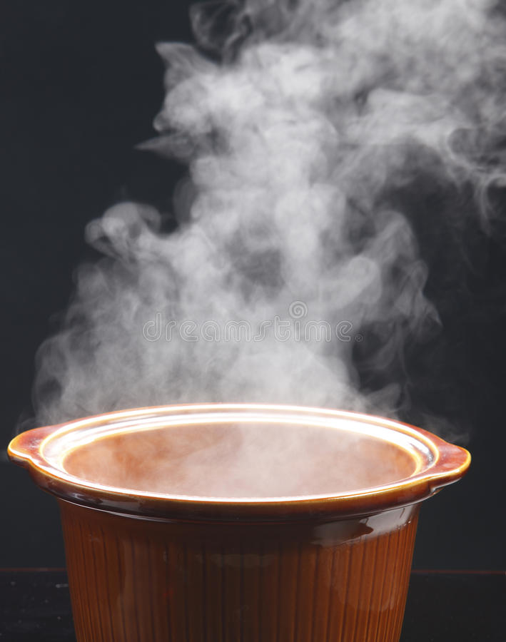 Steam From Soup ~ Hot steam royalty free stock photography image