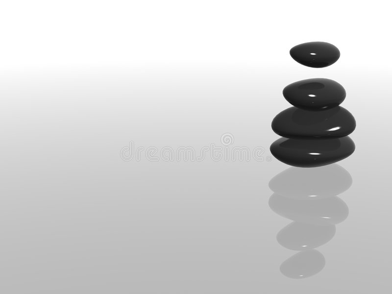 Download Hot stones stock image. Image of stack, image, relaxing - 3839693