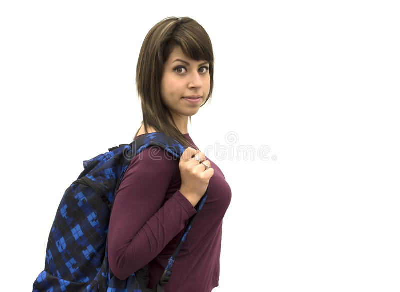 Hot student smiling stock images