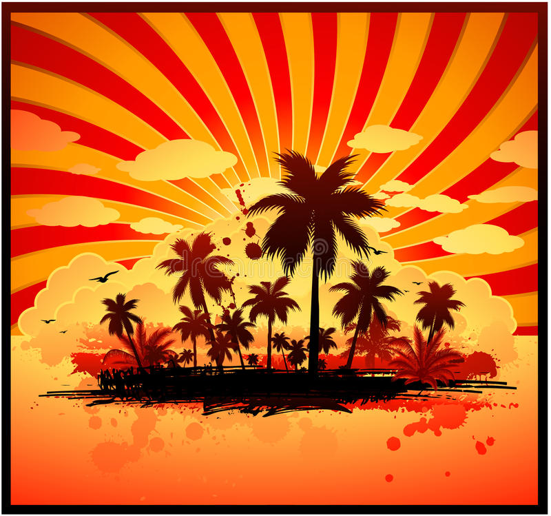 Free Hot Summer Background Stock Photo - 14535810