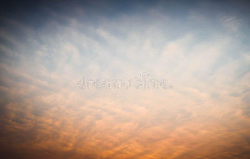 Hot Summer Sky royalty free stock photography