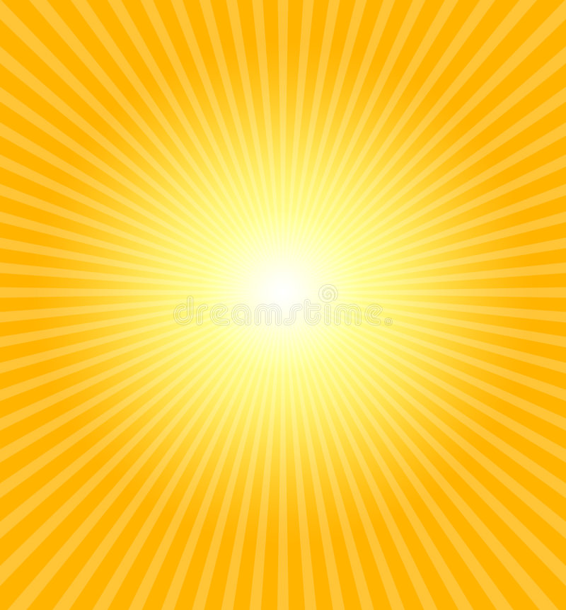Download Hot summer sun stock illustration. Image of heat, colored - 1249077