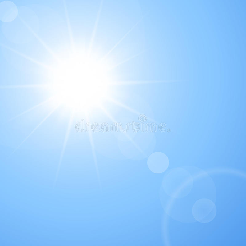 The hot summer sun - abstract background royalty free stock photo
