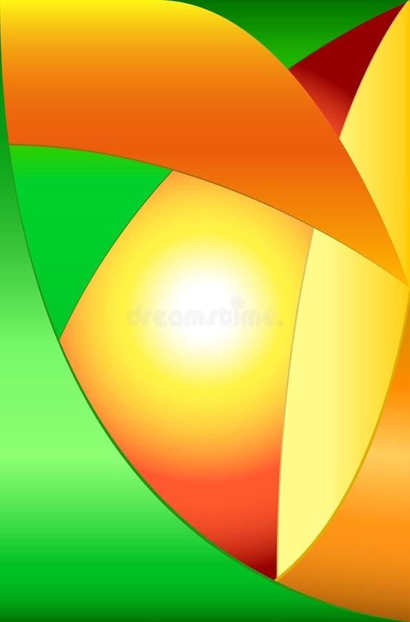 Hot summer sun   Eps 10, Ai 15 stock images