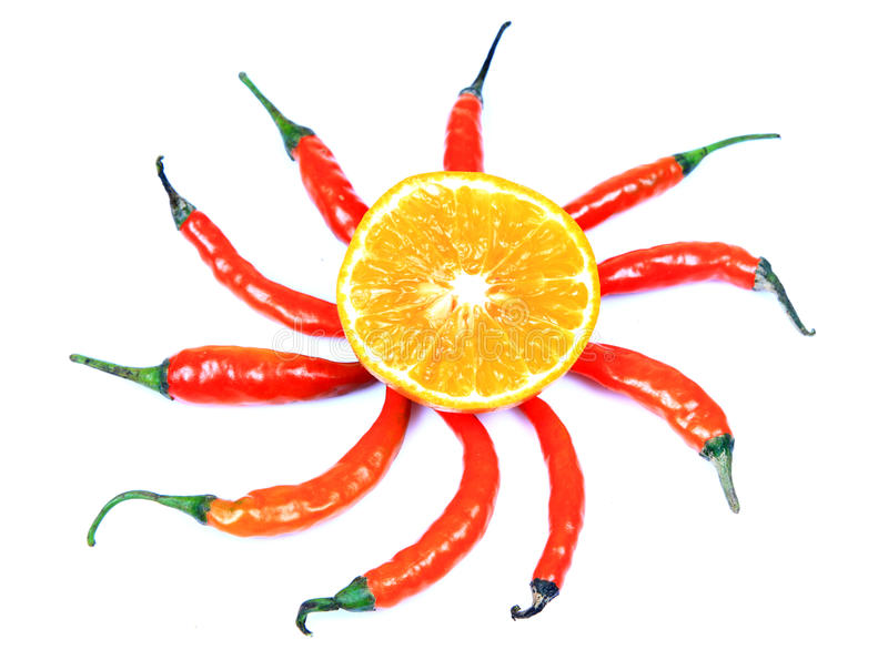 Download Hot sun stock photo. Image of spice, shape, pepper, chilly - 17906700