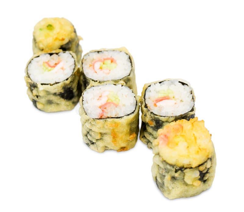 Hot Sushi Rolls Royalty Free Stock Photos
