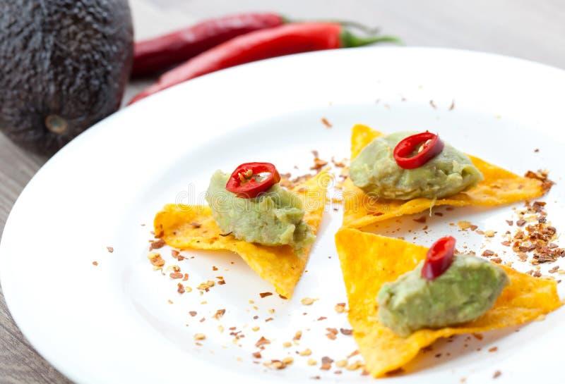 Download Hot tapas stock image. Image of spain, nachos, cream - 16064687