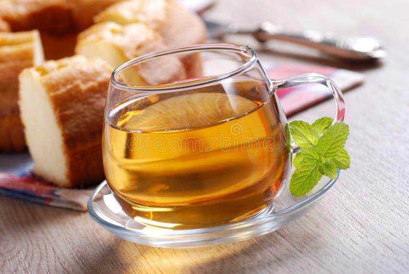 Hot Tea For Breakfast Stock Photos