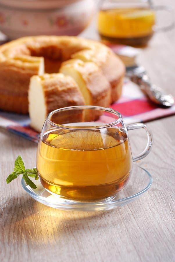 Download Hot tea for breakfast stock image. Image of saucer, taste - 28063935