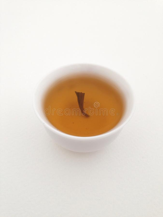 Hot tea royalty free stock image