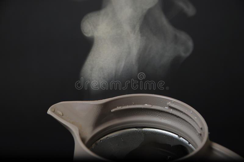 Download Hot teapot with smoke stock image. Image of steaming - 20741093