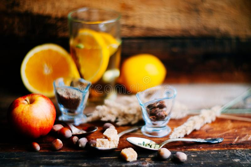 Hot Toddy Drink (apple Orange Rum Punch) For Christmas And