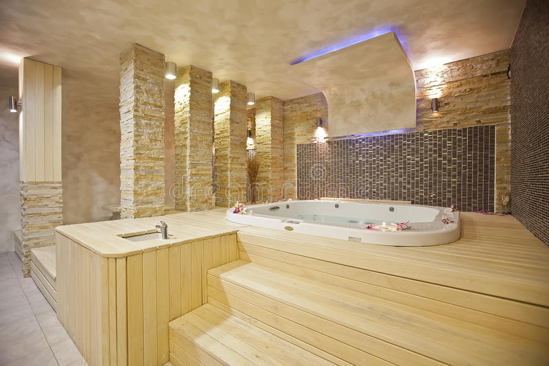 Download Hot tub stock photo. Image of design, holiday, brown - 24838690
