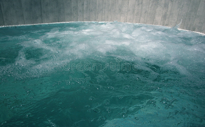 Hot tub stock photography