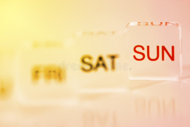 Download Hot Weekend stock image. Image of month, saturday, plan - 5038347