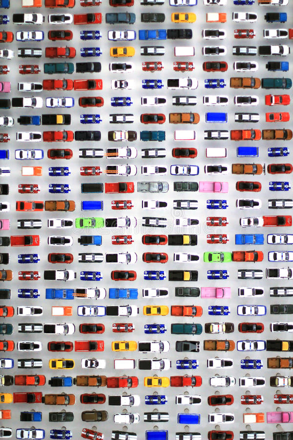 Hot Wheels display stock images